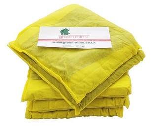 Green Rhino Chemical Absorbent Cushions 30cm x 30cm Pack 20