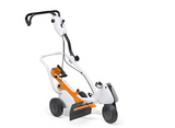 The STIHL FW 20 cart turns all hand-operated STIHL cut-off saws into easily manoeuvrable cutting machines. Convenient depth adjustment allowing the cut-off saw to be easily mounted on the cart and cut height adjusted by means of the upper handle. Comes with 'Attachment kit with Quick Mounting System'. For the TS 400, TS 410, TS 420, TS 480i and TS 500i.