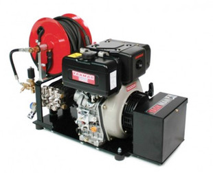 Taskman PW170 PH15 Plate Mounted Petrol Washer   YANMAR ENGINE SHOWN FOR ILLUSTRATIONS PURPOSES