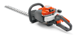 Husqvarna 122HD60 Hedge trimmer - 966 53 24 01  The Husqvarna 122HD60 is a compact and lightweight petrol hedge trimmer for domestic use, with easy to use functions such as Smart Start®, and the benefit of a low noise engine. With an adjustable rear handle this small hedge trimmer with 59cm blade makes easy work of cutting sides and tops of hedges.