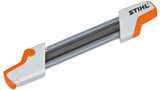 "Stihl 2-in-1 EasyFile Flat file and depth gauge tool - 5605 750 4304 2-in-1 file holder, .325"" ø 4.8 mm"