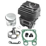 Cylinder &  Piston (new inlet plate) for Husqvarna K760 - 581 47 61-03  Supplied with inlet plate D51, gasket, needle bearing.  Genuine Husqvarna Part