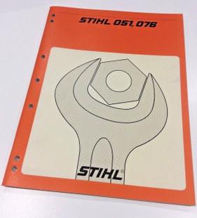 Workshop Service Manual for Stihl 051 - 076 - 0455 111 0123
