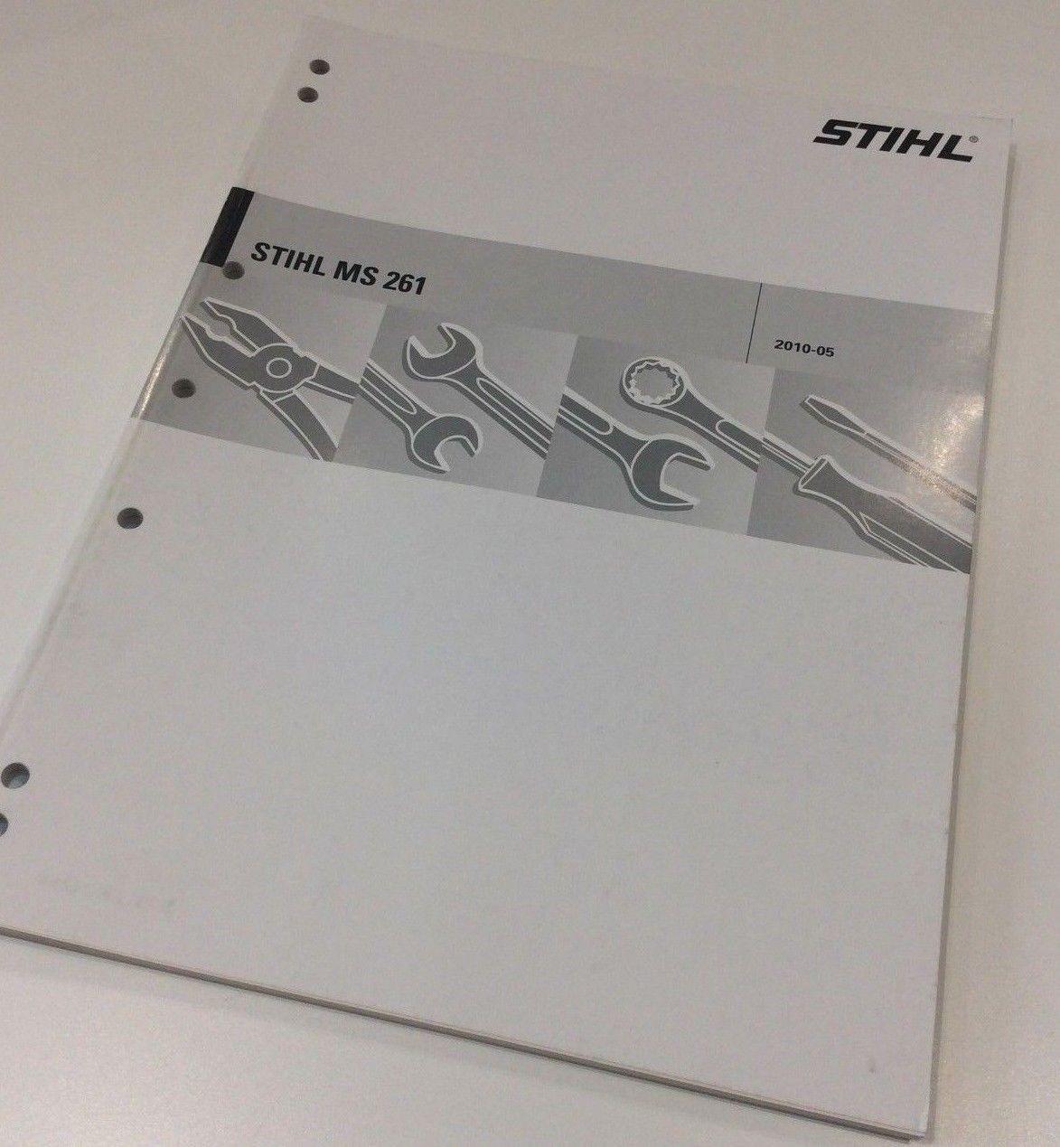 Workshop Service Manual for Stihl MS 261 - 0455 573 0123