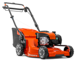 "HUSQVARNA LC 347V 18.5""/47cm Petrol Variable Speed Lawnmower (967 06 89-01)  Motor/engine manufacturer = Briggs & Stratton  Drive system = Self-propelled, variable speed  Cutting methods = Collection/BioClip®/Rear discharge  Cutting width = 47 cm"