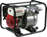 "HONDA WT20X Petrol 2"" Trash Water Pump - HPWT20XD  Maximum output capacity (L/min): 710 Pressure (bars): 3 Dimensions (L x W x Hmm): 620 x 460 x 465 Dry weight (kg): 47 Engine Model: GX160 Engine type: 4-stroke, OHV,** 1 cylinder Displacement (cm³): 163 Bore x stroke (mm): 68 x 45 Engine speed (rpm): 3600 max Engine net power (kW): 3.6 Cooling system: Forced air Ignition system: Transistor Oil capacity (L): 0.6 Fuel tank capacity (L): 3.1 Operating time: 2h50 approx Starter system: Recoil Sound pressure level at workstation (dB(A)): 92 Guaranteed sound power level (dB(A)): 106"