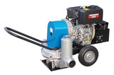 "OBART DRYMAX 3"" Diesel Diaphragm Trash Pump - CEOBDRYMAX3  Model	DryMax 3 Inlet (mm)	3""  Outlet (mm)	3""  Engine	L48E Fuel	Diesel  HP	4.7 Flow (l/min)	330 Head (mtrs)	17 Width (mm)	775 Length (mm)	1210 Height (mm)	720 Solids (mm)	40 Dry weight (kg)	94 Packing weight	95"