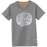 "Stihl Children's ""YOUNG WILD"" t-shirt ""(M - 7 - 8yrs) - 0420 400 0128"