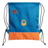 Stihl Kid's lumberjack gym bag - 0420 460 0007  Our colourful polyester gym bag is the perfect companion for every adventure. The CRAZY BEAVER and FUTURE LUMBERJACK badges make this bag a star on any playing field.   Technical dataValue ColourBlue & orange Material100% polyester SizeOne size