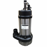 """JS 3"""" Submersible Drainage Water Pump  The JS 3"""" Submersible Drainage is an all-around dewatering pump that offers top performance and long service life. Ideal for clean or grey water drainage. Flow 400 l/min. Head 15m. Weight 27kg  ModelJS 750 3"""" Power (Kw)0.75 Outlet size3"""" Max Flow lpm400 Max Head (m)15 Weight (kg)27"""