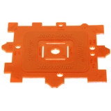 Stihl Check / Control Gauge - 0000 893 4105  For measuring the pitch of the chain and sprocket, as well as the thickness of the drive link and groove width of the guide bar.  Genuine STIHL Part