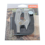 Stihl Filing Vice S 260g - 0000 881 0402  Particularly light, convenient vice. Easy to drive into wood and fix the guide bar.  Includes practical belt bag.