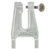 Stihl Filing Vice L 700g - 0000 881 0403  Large, heavy duty vice, which can be easily driven into wood.