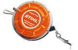 Stihl Forest Tape Measure 25m -  0000 881 0801  Self-retracting tape measure with robust metal casing.