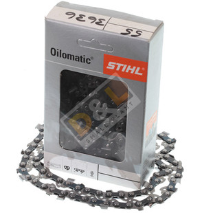 "Stihl 14"" Picco Micro Mini 3 (PMM 3) 3/8"" P 1.1 mm, Chain Loop 50 Drive Links"