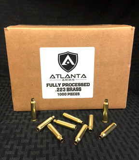 .223 FULLY PROCESSED BRASS - 1000 PIECES