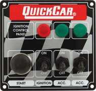 Quick Car Ignition Control Panel 3 Light and Accessory Switch