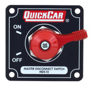 QuickCar Master Disconnect Switch Black