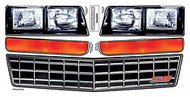 Headlight Decal Kit