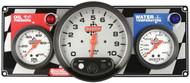 QuickCar Two Gauge Panel OP WT Tachometer