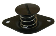 Quarter Turn Self Ejecting Button 7/16 Black