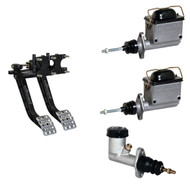 Brake Pedal Reverse Mount and Master Cylinder Combo