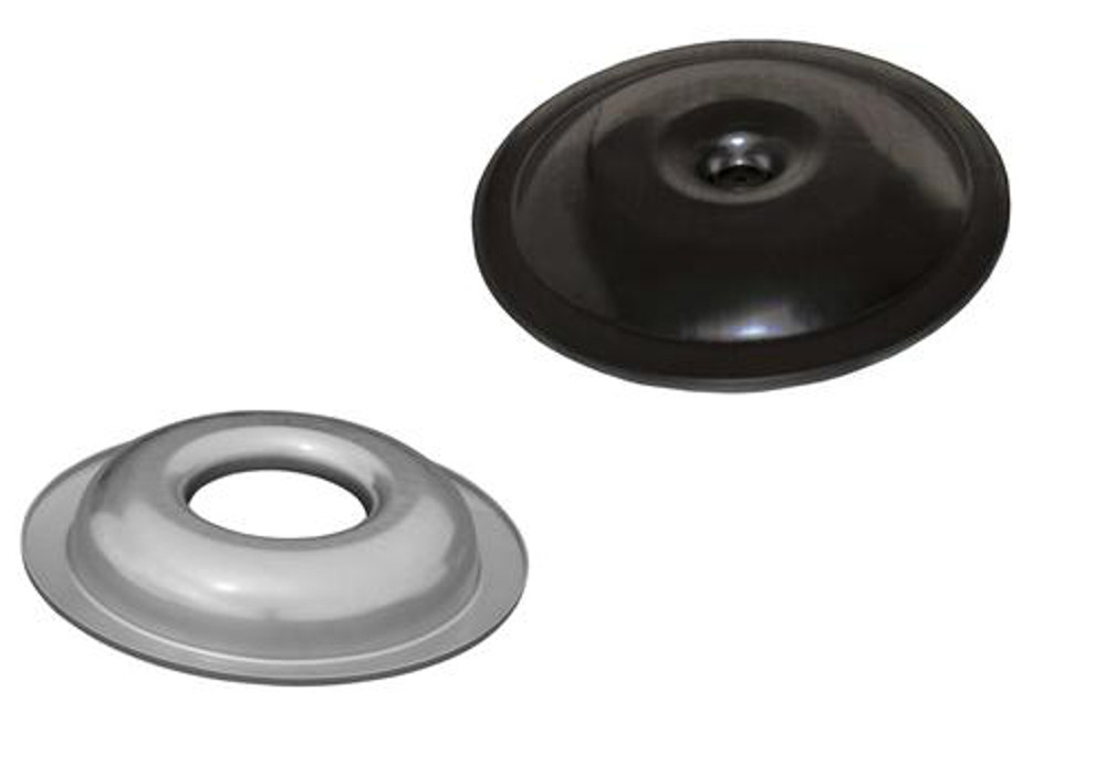 Air Cleaner Kit Top and Bottom Only Gloss Black