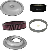 Ultra Flow Air Cleaner Offset Washable Air Filter with Outerwears