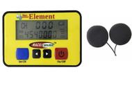 RACEceiver Element Rechargeable with Helmet Speakers