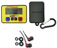 RACEceiver Element Rechargeable with Rubber Holster and Rookie Ear Piece