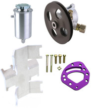 Power Steering Pump and Tank Combo Head Mount