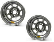 AERO 15 X 8 Silver Wheel 52 Series PAIR
