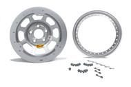 AERO 15 X 8 Silver Wheel 53 Series Beadlock