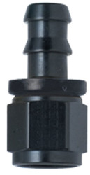 Hose Fitting Straight Push-Lock Black