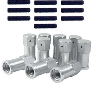 Quick Change Nut and Bolt 10 Pack