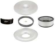 Flat Ultra Flow Paper Air Cleaner Kit with Sure Seal and Outerwear