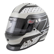 Zamp Carbon Fiber RZ-65D Graphic Dirt Helmet