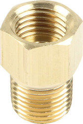 """Straight Adapter Fitting 1/8"""" NPT to 3/16"""""""