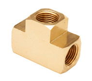 Brass Fitting T-Fitting Female 1/8in