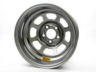 """Aero 52 Series Silver Wheel 15 X 8 5 On 5 3"""" Offset"""
