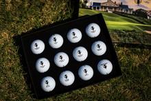 Trail Commemorative Golf Ball Box