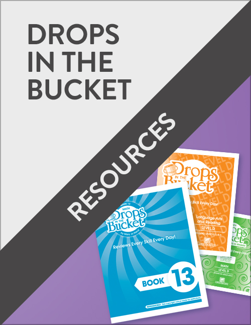 Drops in the Bucket Resources