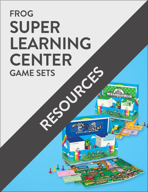 Frog Super Learning Center Game Set Resources