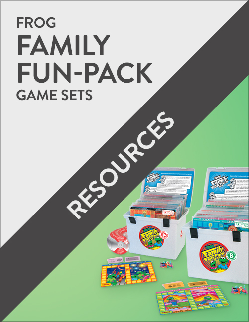 Frog Family Fun-Pack Parent Engagement Resources