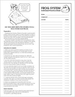 Individual Practice Sheet