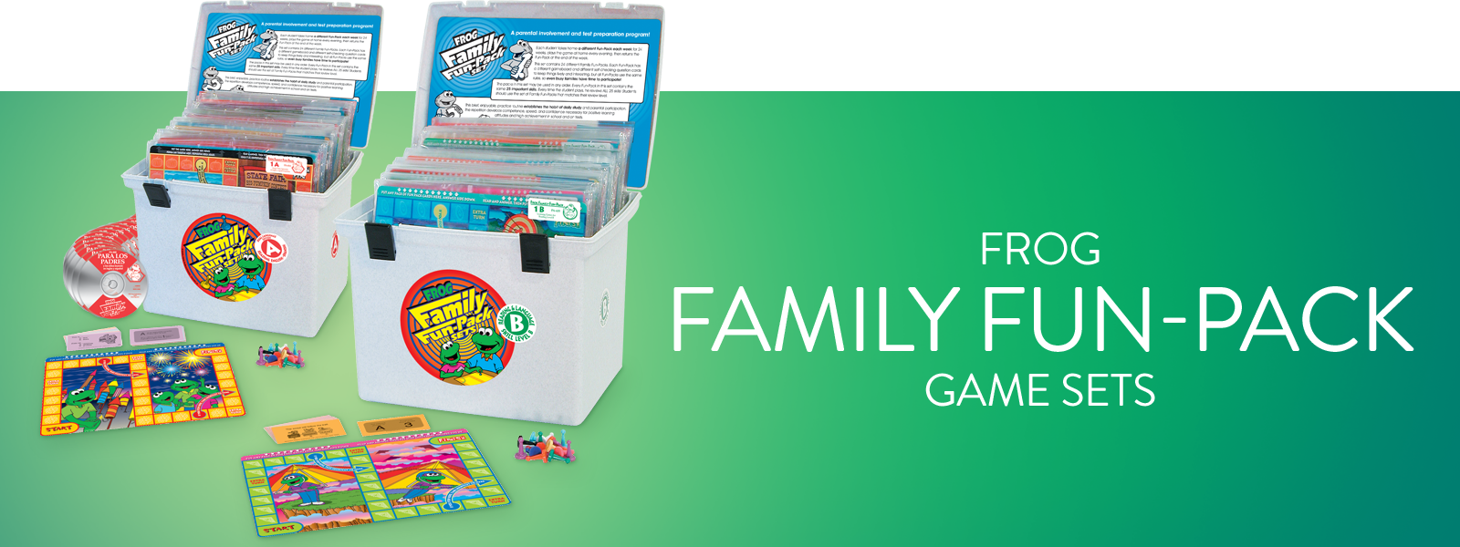 Frog Family Fun-Packs