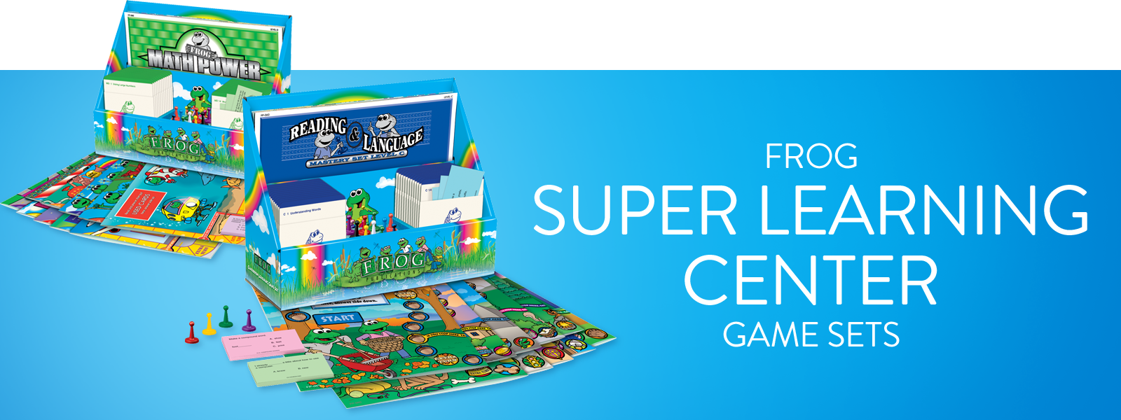 Frog Super Learning Center Game Sets