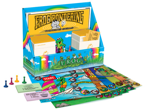 Learning Center Games - Frog Pondering Set