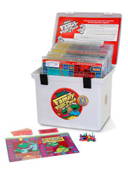 PA-734 Family Fun-Pack Game Set - Level B Math (reviews 2nd grade skills)