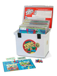 PA-736 Family Fun-Pack Game Set - Level D Math (reviews 4th grade skills)